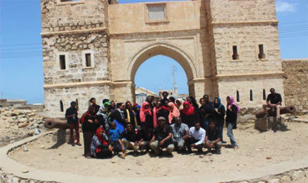 Students Visited Sawakin Museum near Port Sudan